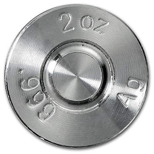Silver Bullet .308 Cal 2 Troy Oz .999 Fine Silver