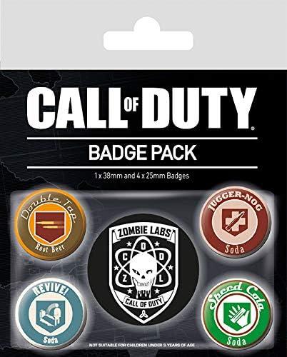 Badge Pack PACK CHAPAS CALL OF DUTY SODA, Multicolor, 10 x 12.5cm: Amazon.es: Hogar