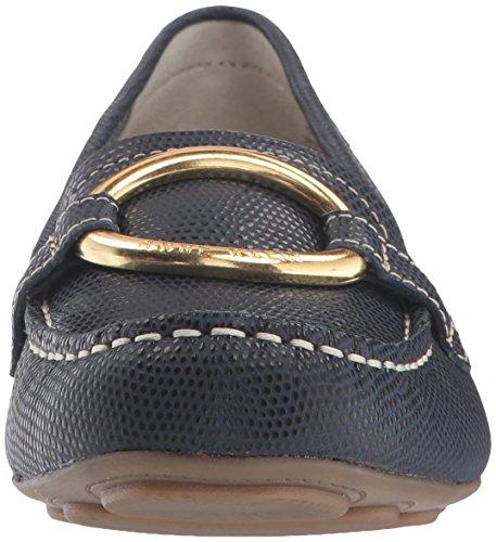 Anne Klein Women's Harmonie Loafer Navy Reptile cheap sale best seller cheap ebay buy cheap cheap OiYjZVttk