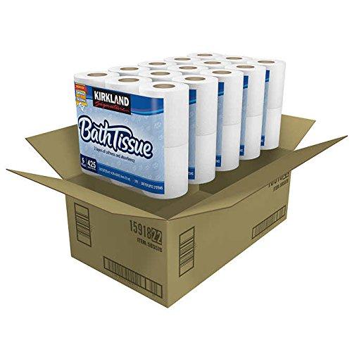 UPC 647627036182, Kirkland Signature Bath Tissue 2-ply White 30-count