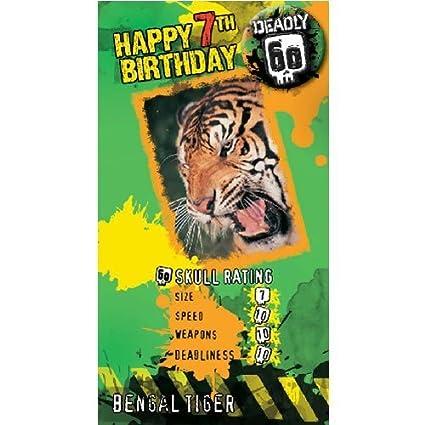 BBC Tierra Deadly 60 edad 7 tigre de Bengala Cumpleaños ...
