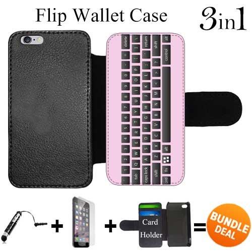quality design c958f cf550 Amazon.com: Flip Wallet Case for iPhone 6 Plus/6S Plus (Pink ...