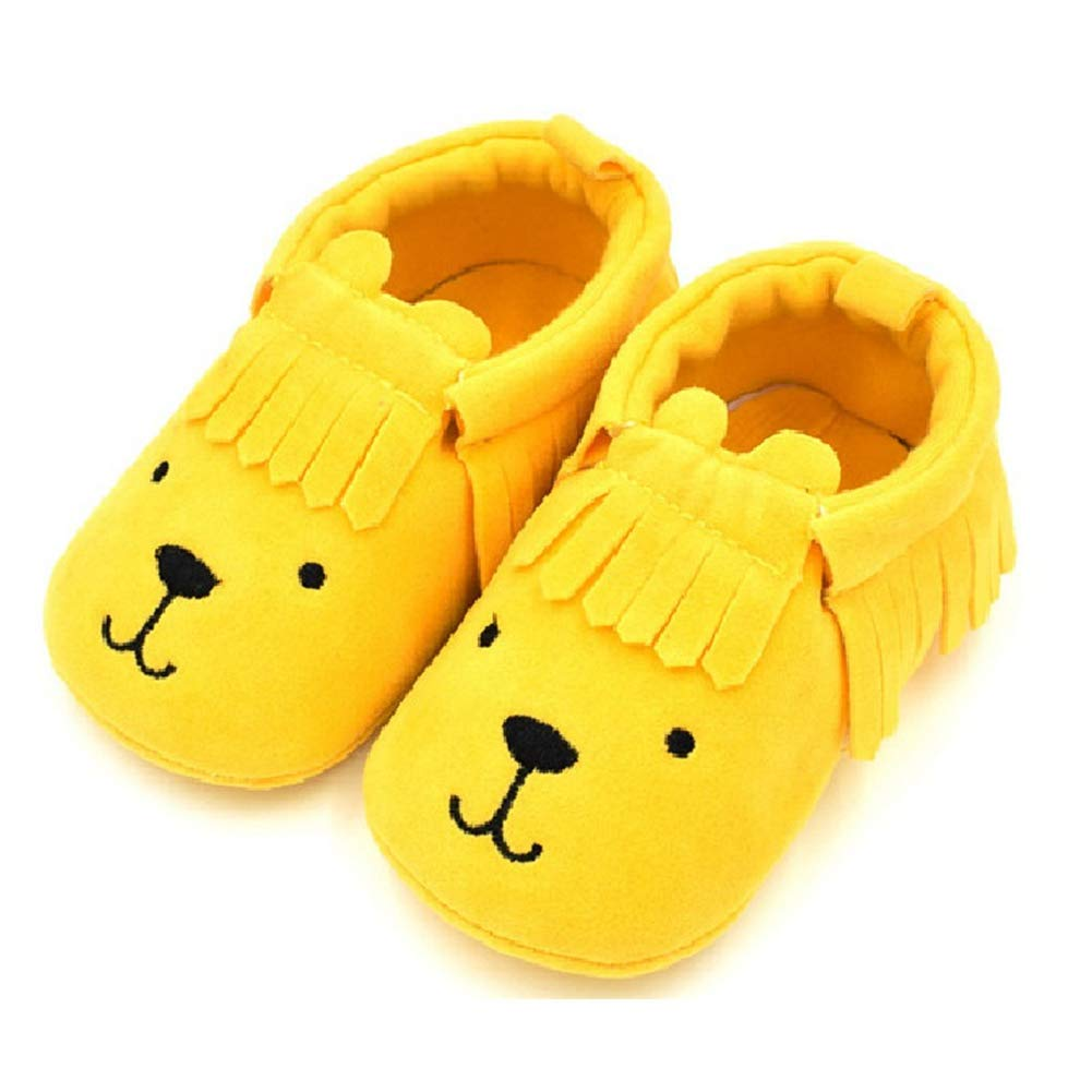 First Walker Cute Dog Baby Shoes Infant for Baby Girls Boys Newborns Leather Moccasins Soft Footwear Shoes Sneakers