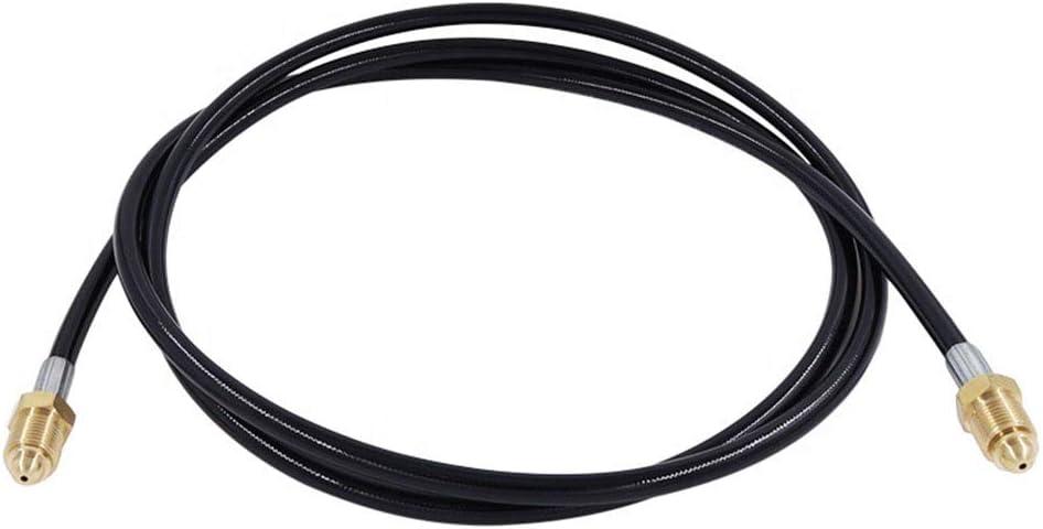 5//8-18 Male to 5//8-18 Male Gurlleu 6 Feet Argon CO2 Mig Tig Welding Gas Connector Hose