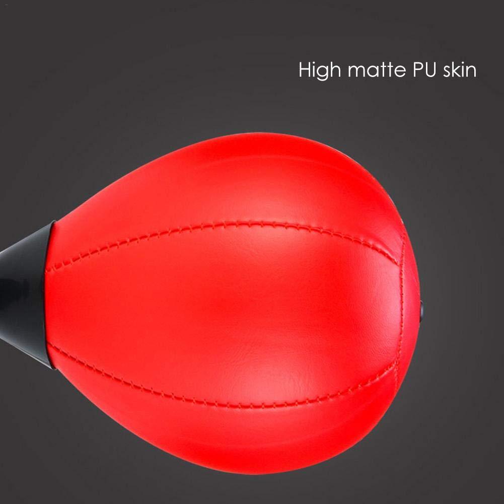 Haodene Desktop Punching Bag Punching Ball Antiestr/és Bola De Boxeo con Super Strong Ventosa /& Un Inflador