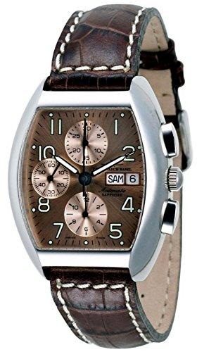 Zeno-Watch Mens Watch - Tonneau Sapphire Chronograph Day-Date - 3077TVDD-a6