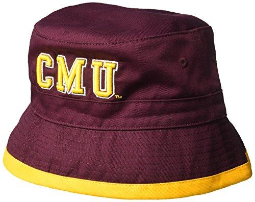 W Republic NCAA Central Michigan Chippewas Freshman Bucket, Large/X-Large, Maroon
