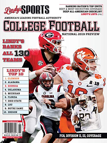 Lindy's Sports College Football National 2019 Preview