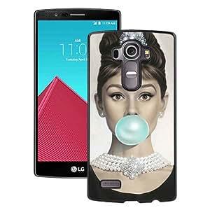 WANY Beautiful Classic Audrey Hepburn Black LG G4 Case