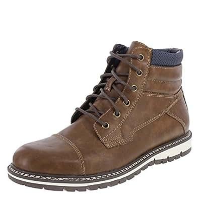 Amazon.com | Dexter Men's Cognac Men's waylan Cap Toe Boot