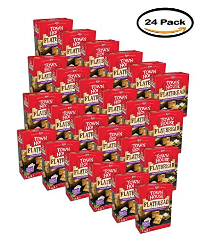 PACK OF 24 - Town House Spinach, Artichoke & Feta Flatbread Crisps 9.5 oz. Box by Keebler