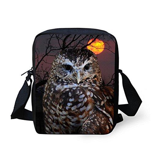 IDEA bandoulière Y pour W086E petit Owl2 loup femme Sac HUGS x1BwdqIvB