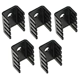 5pcs 718 Radiator Heat Sink Aluminum Alloy 19 x 14 x 9 mm from Optimus Electric