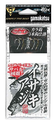 がまかつ(Gamakatsu)イサキ・アジ3本仕掛F1148号-ハリス2の画像