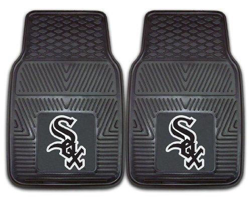 Chicago White Sox Heavy Duty 2-Piece Vinyl Car Mats 18