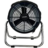 XPOWER X-34ASR - 14 1720 CFM Axial Fan Air Mover Stainless Steel Stand