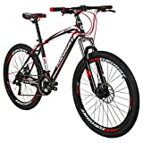 Eurobike X1 Mountain Bike 21 Speed MTB Bicycle 26 Inch Wheels Dual Disc Brake Suspension Fork MTB Bicycle