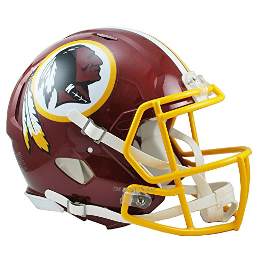Washington Redskins Officially Licensed Speed Authentic Football Helmet by Riddell