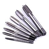 Atoplee 7pcs Metric HSS 6542 Left Hand Thread Tap
