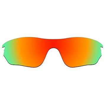6eaec03174 acompatible gafas de sol lentes de repuesto para Oakley RadarLock Edge  OO9183, Fire Red Mirror - Polarized: Amazon.es: Deportes y aire libre