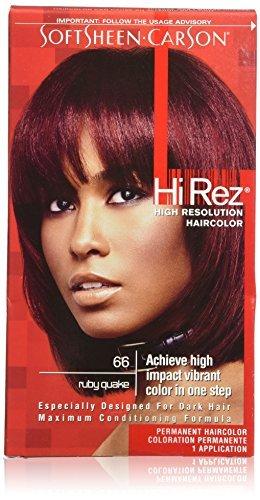 Hi Rez Hair Color - SoftSheen-Carson Hi Rez High Resolution Haircolor, Ruby Quake 66 by Hi Rez