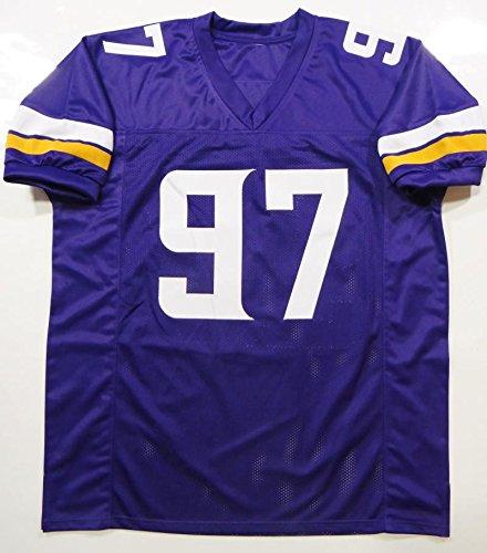 huge discount 9a062 9f245 Everson Griffen Autographed Purple Pro Style Jersey- JSA ...