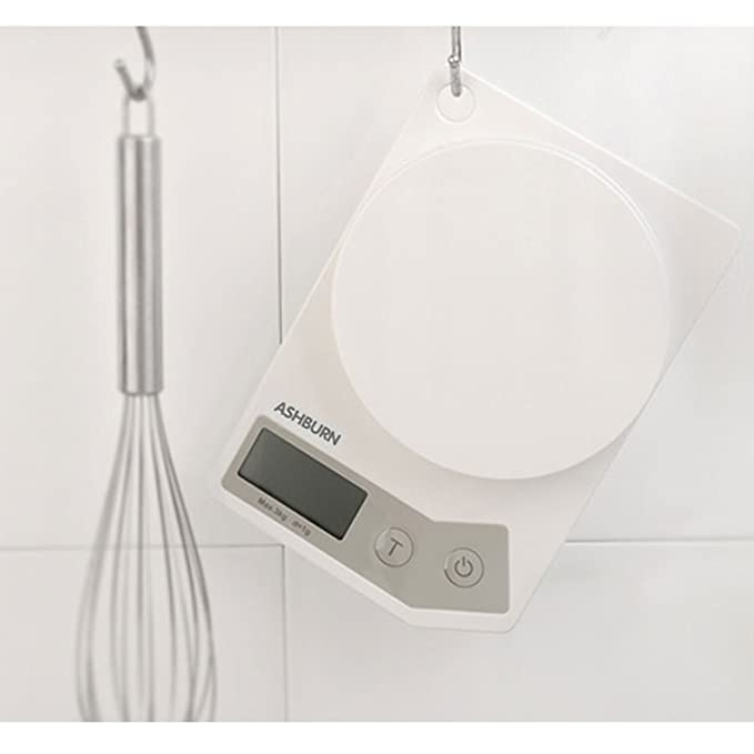 HUIJU Digital Kitchen Scale Gramo Electrónico Que Pesa El Gramo del Alimento Que Cuece La Exhibición Casera De La Alta Precisión HD: Amazon.es: Hogar