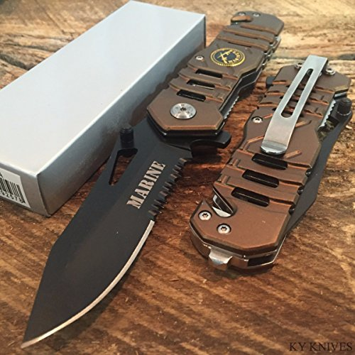 SNAKE-EYE-TACTICAL-US-MARINES-RESCUE-STYLE-ASSISTED-OPENING-KNIFE-WITH-CLIP