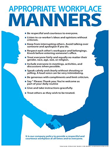 Workplace Manners Poster 18