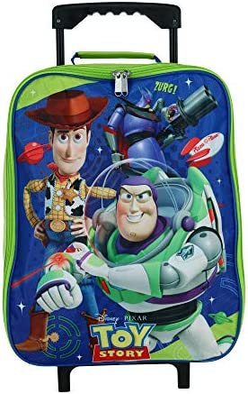 Toy Story 15 Collapsible Wheeled Pilot Case – Rolling Luggage