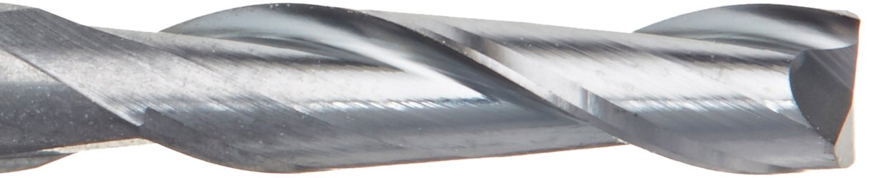 """TiALN COATED 9//64/"""" 4 FLUTE CARBIDE END MILL"""