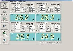 Gowe® High Precision USB Four Channel Thermometer Recorder, Multi-channel Temperature Data Recorder