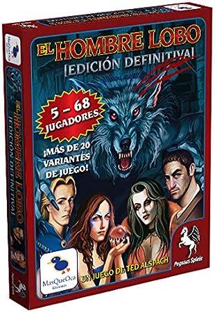 Ediciones MasQueoca - El Hombre Lobo Edicion Definitiva - Ultimate Werewolf (Español): Amazon.es: Juguetes y juegos