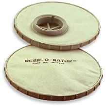 Resp-O-Rator Dust Replacement Filters 2-Pack