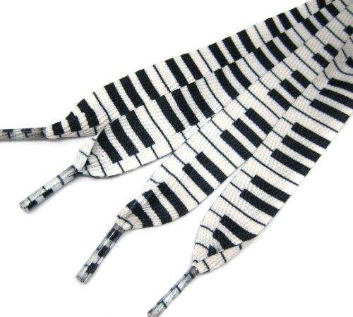 Clover Music Piano Fashion Shoelace