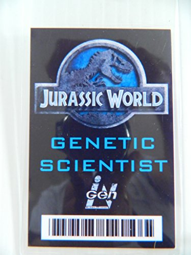 HALLOWEEN COSTUME MOVIE PROP - ID Security Badge (Genetic Scientist)