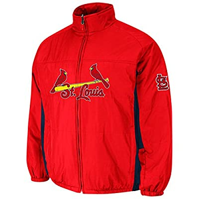 St. Louis Cardinals MLB Men's Big & Tall Double Climate On-Field Jacket (2XT)