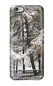 Defender Case With Nice Appearance (winter In The Park) For Iphone 6 Plus