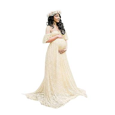 correspondant en couleur nouveaux produits pour 100% d'origine Robe Grossesse Shooting,Robe de Grossesse,Femmes Enceintes Soutien-Gorge en  Mousseline de Soie Longue Robe Accessoires de Mode de Maternité