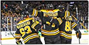 Frameworth 76-656 Bergeron/Marchand/Pastrnak 14x28 Canvas Bruins, One Size, White