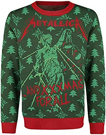 Metallica Holiday Sweater 2018 Christmas Jumper L