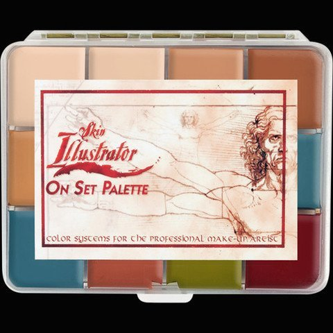 PPI Skin Illustrator On Set Flesh Tone Makeup Palette by Skin Illustrator