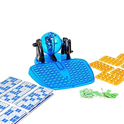 Bingo Machine Cage Game Set with Balls Family Game: Toys & Games