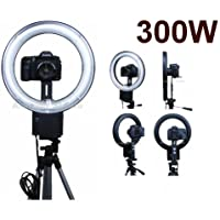 Camera 300W Macro, Portrait Ring Light for Sony Alpha A230, A200, A330, A350, A380, A230L, A200K, KA850, A330L, A230Y, A350K, A550, A380Y, A500, A300K, A900,
