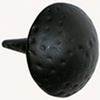 product image for Acorn Manufacturing CL2BP Clavos Collection 0.75 Inch Round Decorative Stud, Black Iron Finish