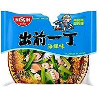 出前一丁高品质即食方便面海鲜味100g*6(香港)