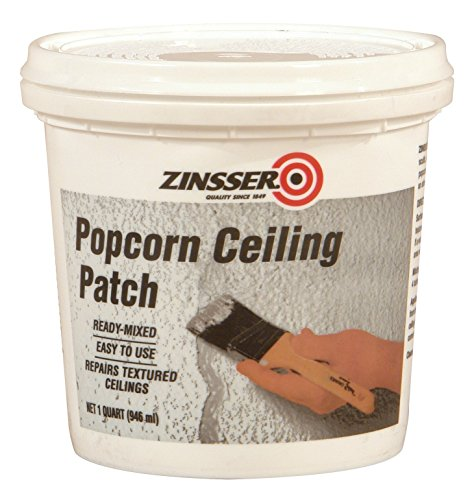 - Zinsser Ready-Mixed Popcorn Ceiling Patch, 1-Quart