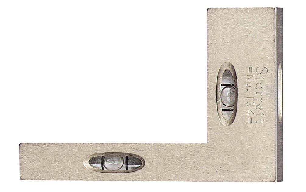 Starrett 134 Cross Test Level and Plumb, 2 x 3-Inch (50 x 75mm)