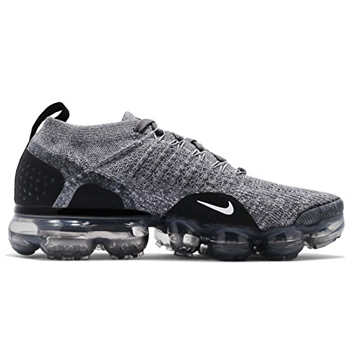 Compétition Femme Grey Dark NIKE W de Multicolore Flyknit Black Air Chaussures Grey 002 Wolf Black 2 Vapormax Running 787SH