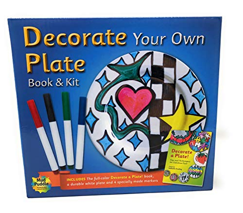 Decorate Your Own Plate Book& -